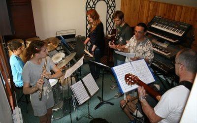 Un cours de musique adapté
